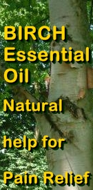 Ormus Minerals Birch Essential Oil Natural help for Pain Relief