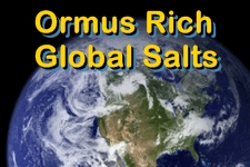 Dead Sea Salt Ormus Minerals Dew 1 oz